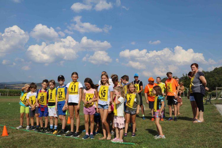 Abschluss KIDS Sommerprogramm mit Sponsored RUN